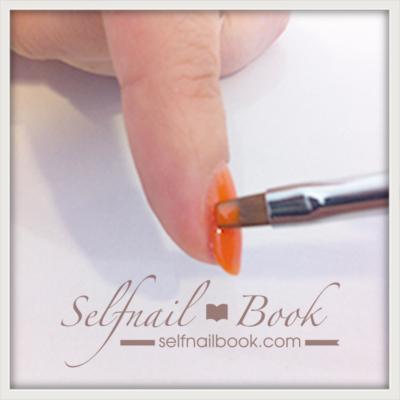 カラージェルの塗り方|色ムラをなくす筆の使い方を図解で紹介6