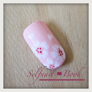 241214セルフジェルネイル桜アートのやり方08