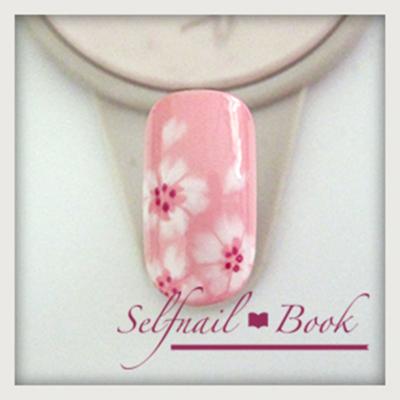 桜ネイルの書き方7