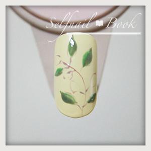 110615セルフジェルネイル南フランス陶器風アートのやり方04
