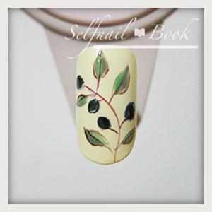 110615セルフジェルネイル南フランス陶器風アートのやり方05