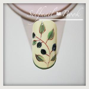 110615セルフジェルネイル南フランス陶器風アートのやり方06