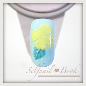 230715selfnailbookシックなハイビスカスの花の書き方-04