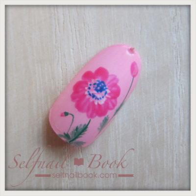 春の花 アネモネネイルのやり方9