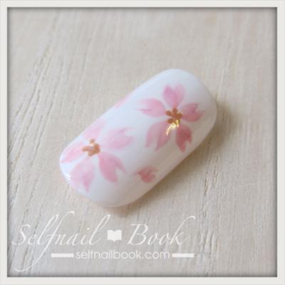 トールペイントで書く桜の花2