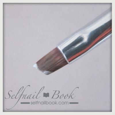 アンギュラー筆とダブルローディングの技法