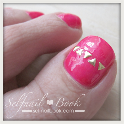 Myネイル|お気に入りピンクのワンカラーフット3