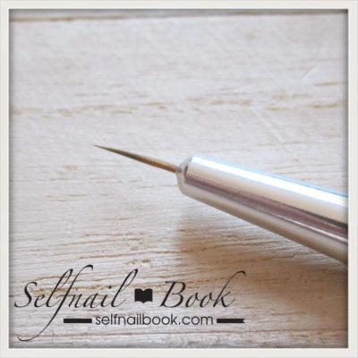 レビュー|ネイル工房さん黒筆シリーズのライン筆3