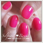 Myセルフネイル|イベント用ピンクのワンカラーネイル