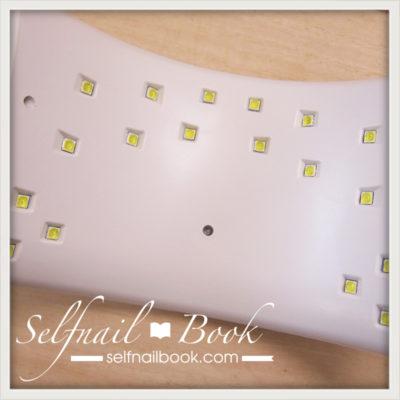 レビュー|LED+UV36Wのライト3