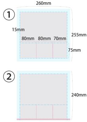 ネイル用ブラシケースの作り方|ニッパーも入る大きさ【展開図付き】5