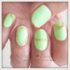ニュアンスネイルグリーン1