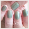 ネイルトレンドカラー緑1